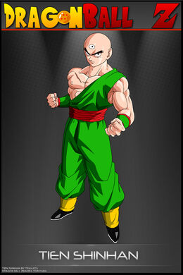 Dragon ball z tien shinhan as by tekilazo-d31g97i