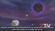El Planeta Oscuro lanzando el gas destructor