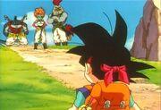 Goku jr. Vs Mamba e altri tre