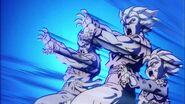 Kamehameha familiar-Goku,Gohan y Goten