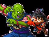 Son Goku vs. Gran Rey Demonio Piccolo (joven)