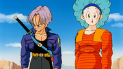 Trunks del Futuro e Bulma