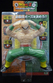 ACTION DX SOFT VINYL FIGURE PART 1Tien-7.8inch