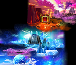 Dragon Ball Heroes Ultimate Mission X - Hell Gate Assault Saga - Map