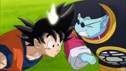 Goku y Kaio Sama del Norte