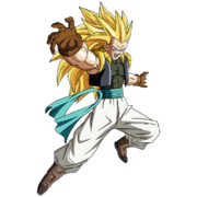 Gotenks - Adulte (Super Saiyan 3) (Artwork)