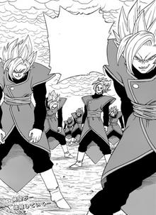 Infinite Zamasu manga