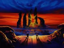Kuririn et Goku film 2
