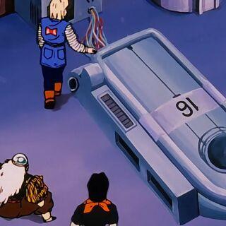 La capsula contenente Numero 16.