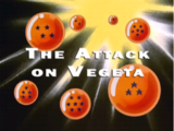 The Attack on Vegeta