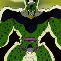 Cell usa il potere del Super Saiyan del terzo stadio