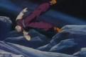 Gohan sned flying