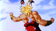 Goten y trunks vs broly