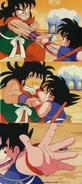 Piedra-Papel-Tijera Goku a Yamcha
