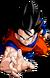 Render Dragon Ball z Goku