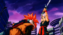 Trunks et Tapion