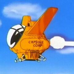 L'aereo di Yamcha della Capsule Corporation.