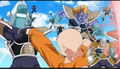 Krillin vs Frieza's 1000 soldiers army 02b, Resurrection 'F', IsraeliteVIP pic snap
