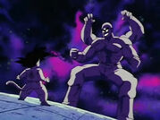 Tien using the Four Witches