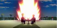 Explosion de la tierra