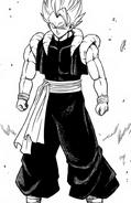 Gogeta Xeno SDBH manga