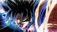 Goku atacando con la doctrina egoísta