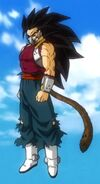 Kanba the Evil Saiyan Full Body