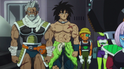 Paragas e Broly si presentano a Freezer - DBSB