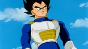 Vegeta arriva da Son Goku