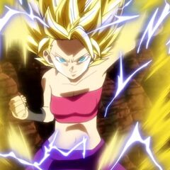 Caulifla Super Saiyan 2.
