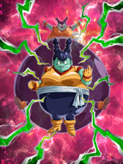 Dokkan Battle Boss Monna (Giant Ball) card (Base Monna)