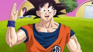Goku en el Planeta Kaio