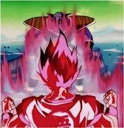 Goku y Ginyu