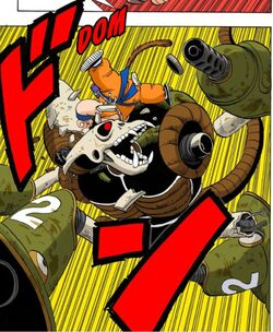 Morte robot pirata manga
