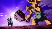Zamas peleando con Babariano