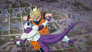 Coola vs Goku