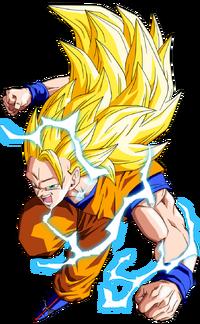 Goku SSJ3 Trans