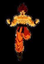 Goku falso super sayan