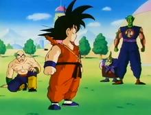 Goku vs Re Piccolo