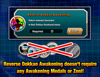 Reverse Dokkan Awakening - Dokkan