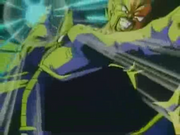 Rey Vegeta atacando