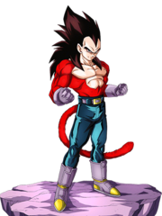 Vegeta SS4 Artwork 2