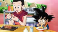 Chi-Chi y Goten en Super Collaboration Special