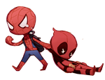 Deadpool y Spider