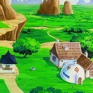 La casa di Goku nel Distretto dell'Est.