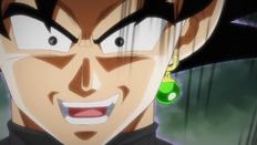 Goku Black demuestra su naturaleza desquiciada