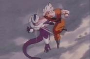 Goku fighting cooler