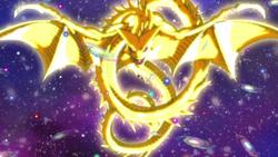 Super Shenlong is half an universe long