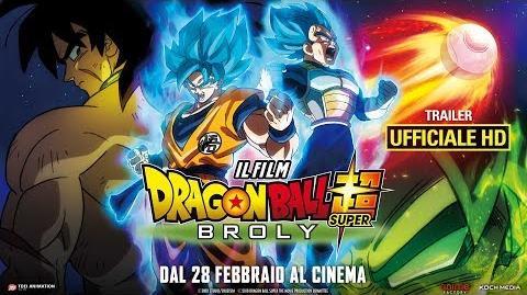 Dragon Ball Super Broly - Il Film - Trailer Ufficiale Italiano HD