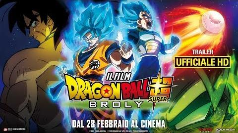 Dragon Ball Super Broly - Il Film - Trailer Ufficiale Italiano HD